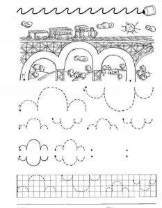 preschool printing practice for kids (4)