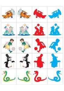 preschool shadow matching cards (2)