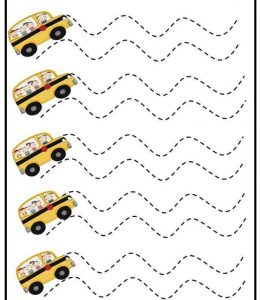 preschool trace the lines sheet (7)