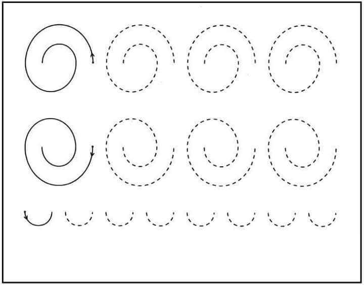 Printable Free Practice Sheets For Kindergarten 1