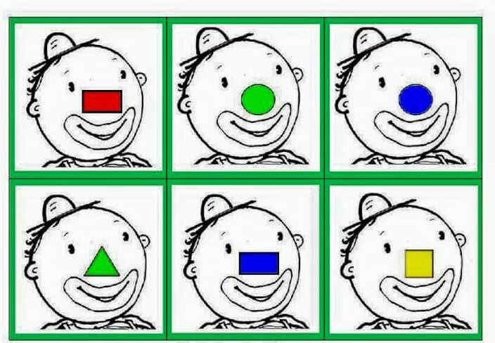 Shape And Color Activities For Preschool « Preschool And