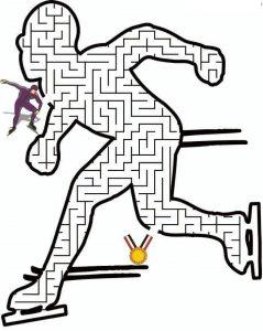 sport maze worksheets (2)