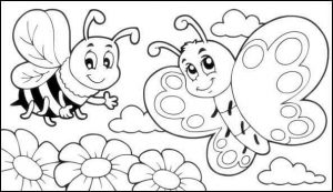 spring coloring page (2)