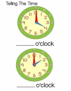 telling time worksheets and activities (3)