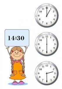 telling time worksheets (clocks) (1)