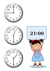 telling time worksheets (clocks) (2)