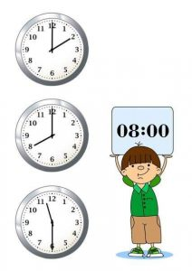 time worksheets for learning to tell time (1)