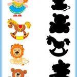 Shadow matching for preschool