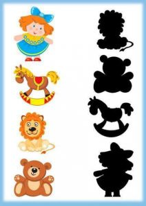 toys shadow matching