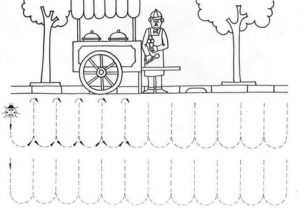 trace the lines worksheets for kids (11)