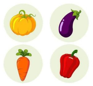 vegetables shadow matching (2)