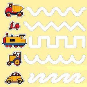 vehicles mazes