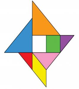 wind rose tangram