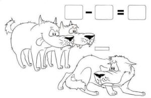 wolf addition worksheet