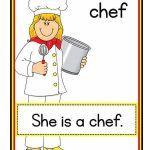 Jobs flashcards for kindergarten