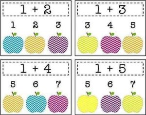 apple-addition-sheets-for-kids