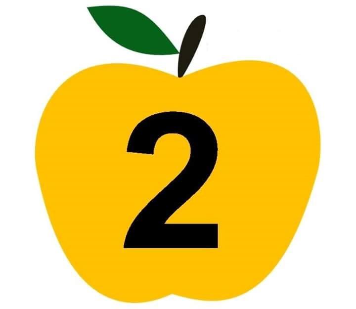 Apple Number Cards 2 3 on Preschool Weather