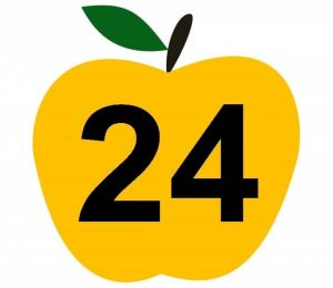 apple-number-cards-24