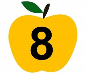 apple-number-cards-8