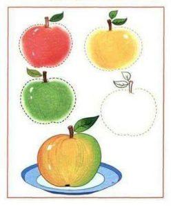 apple-tracing-sheet