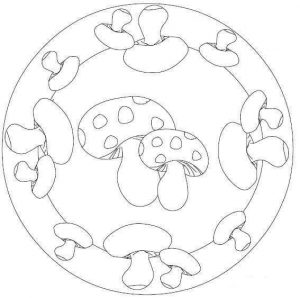 autumn mandala coloring pages - autumn mandalas 19 preschool and homeschool