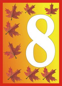 autumn-number-eight-card