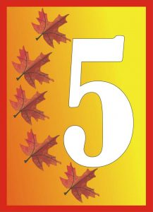 autumn-number-five-card