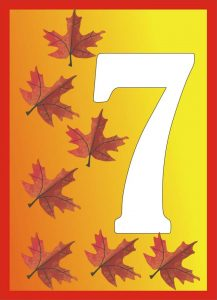autumn-number-seven-card
