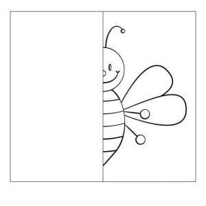 bee-drawing-symmetry-worksheets