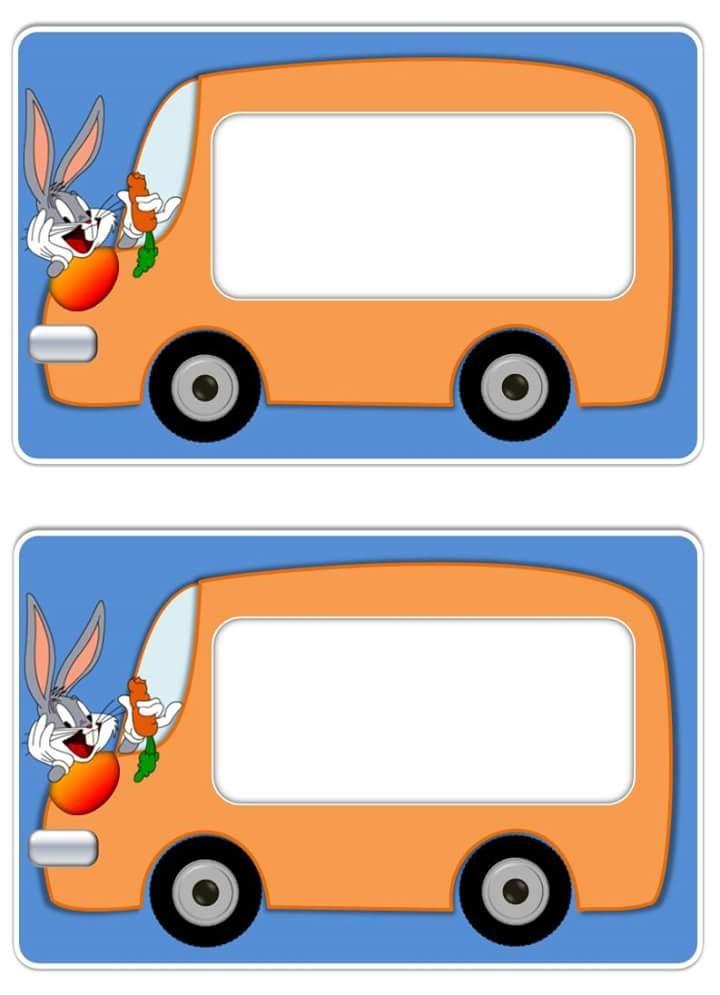 bugs bunny name tag template 5 funnycrafts. Black Bedroom Furniture Sets. Home Design Ideas