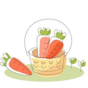 carrot-tracing-sheet
