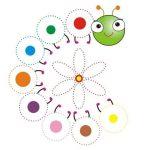 Tracing line worksheets for preschoolers