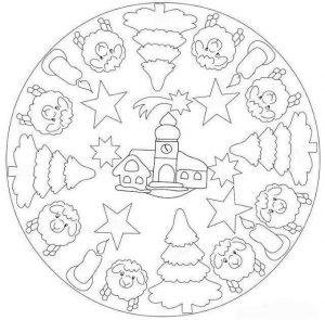 christmas mandalas coloring (1)