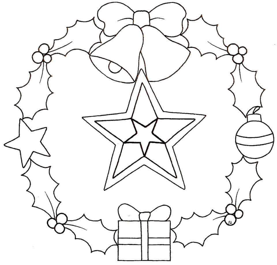 Christmas Mandalas Coloring 12 Funnycrafts