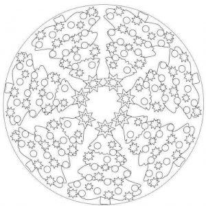christmas mandalas coloring (3)