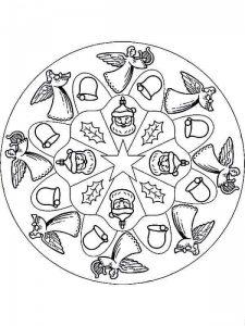 christmas mandalas coloring (6)