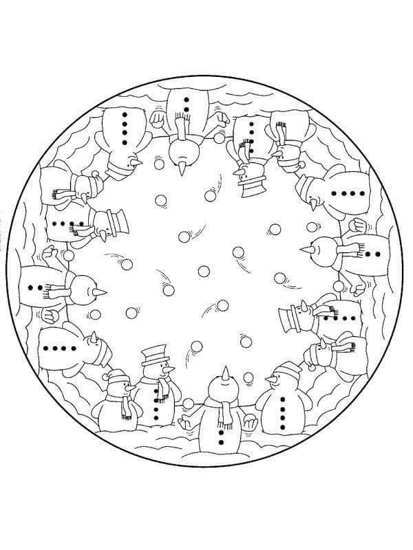 christmas mandala coloring pages christmas mandalas coloring 8
