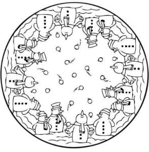 christmas mandalas coloring (9)