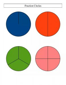 circle fraction sheets (5)