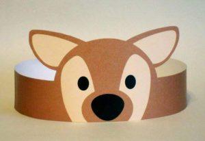 deer-paper-crown-craft