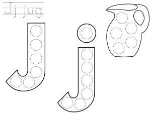 do-a-dot-letter-j-printable
