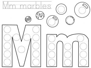 do-a-dot-letter-m-printable