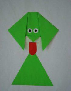 dog-origami