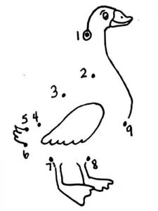 duck-mathematical-coloring-pages