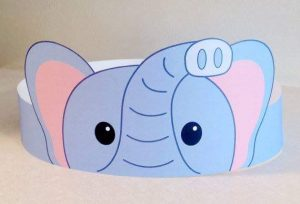 elephant-paper-crown-craft