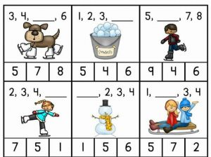 first grade missing add number sheets