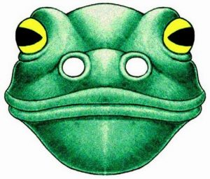 frog-mask-template