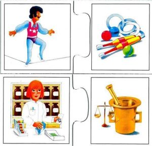 fun professions flashcards for kids