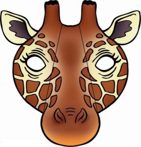 giraffe-mask-template