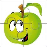 Fruit & vegetable puzzle sheets